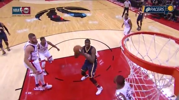 Ellis Feeds Mahinmi for Powerful One-Handed Slam (Game 7)