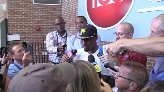 Paul George Talks About Making Team USA