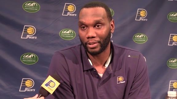 Al Jefferson on Joining Pacers: