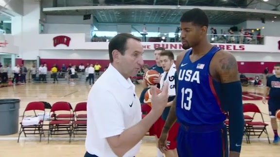 Paul George, Coach K on Importance of USA Basketball Exhibitions