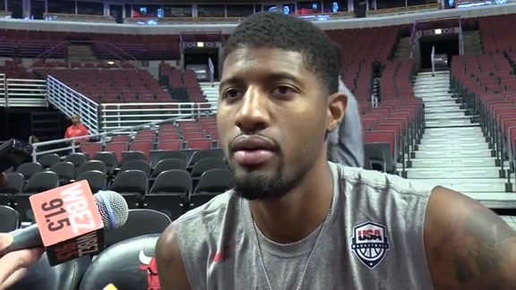 Paul George Shares Early Impressions of 2016 USA Team