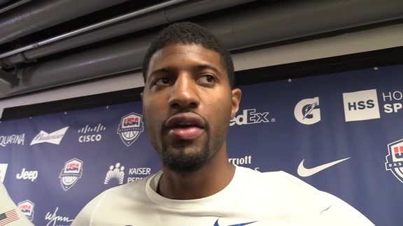 Postgame: PG on Injury, Win Over Venezuela