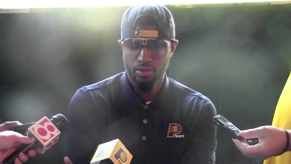 Golf Outing: Paul George on Olympic Experience