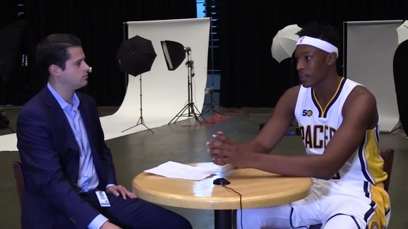 Media Day 2016: Myles Turner