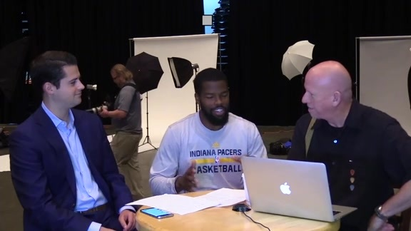 Media Day 2016: Aaron Brooks
