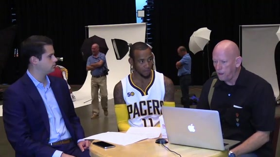Media Day 2016: Monta Ellis Talks About Feeling Fresh