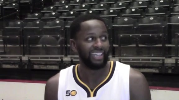 Media Day 2016: C.J. Miles Meets with the Media