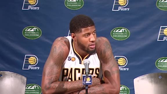 Media Day 2016: Paul George Press Conference