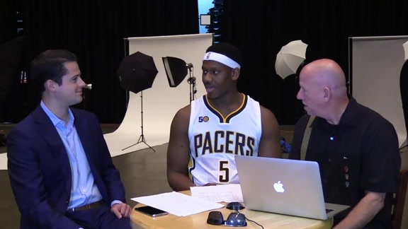 Media Day 2016: Lavoy Allen