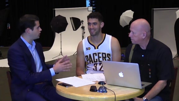 Media Day 2016: Georges Niang