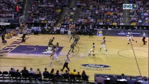Teague to Turner for the Dunk