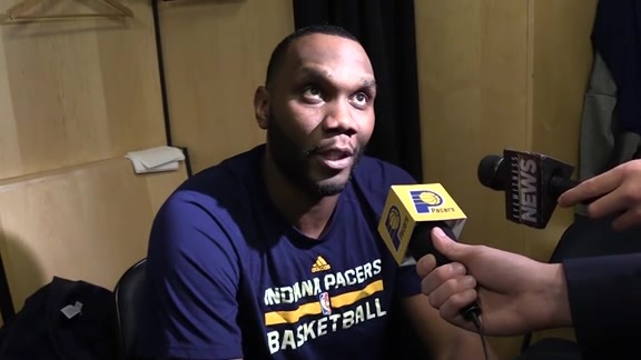 Postgame: Pacers Locker Room 161012