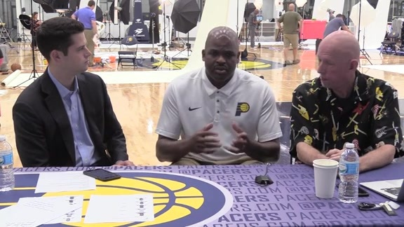 Media Day 2017: Nate McMillan