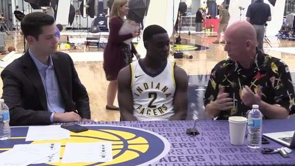 Media Day 2017: Darren Collison