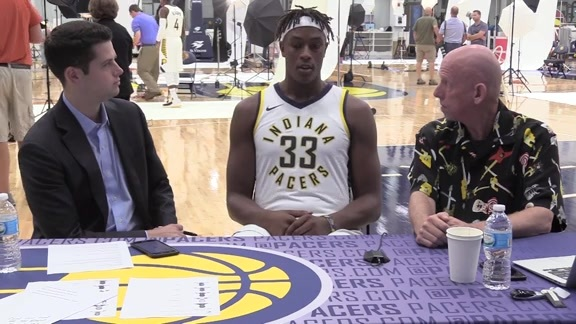 Media Day 2017: Myles Turner