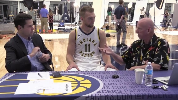 Media Day 2017: Domantas Sabonis