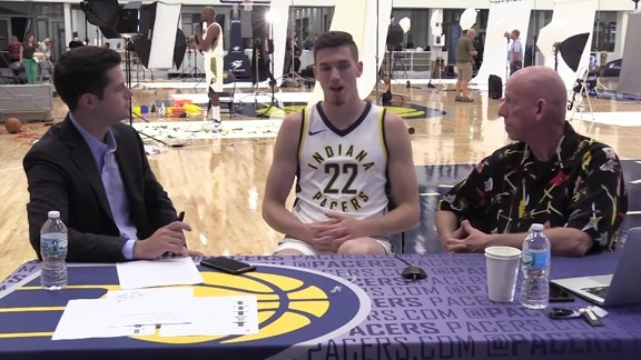 Media Day 2017: TJ Leaf
