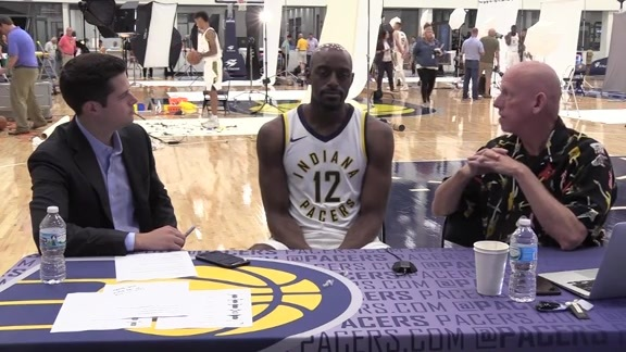 Media Day 2017: Damien Wilkins