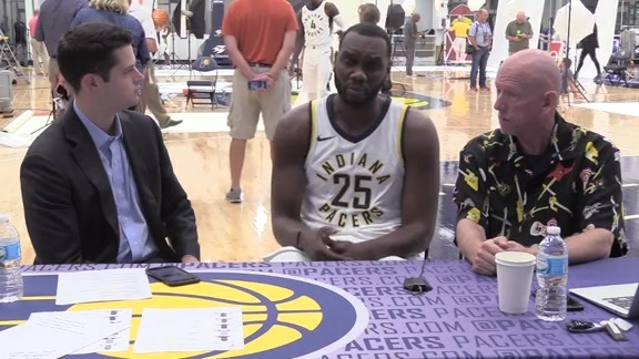 Media Day 2017:  Al Jefferson