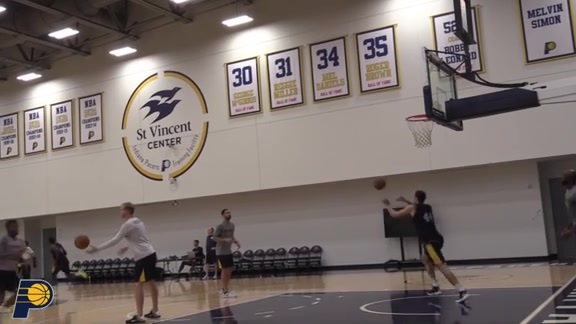 Pacers Making Final Preparations for Regular Season