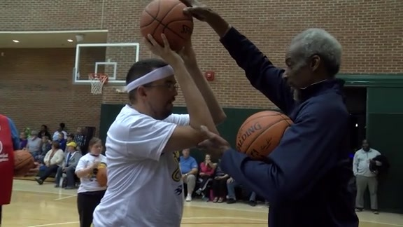 Jr. Pacers Special Olympics Clinic