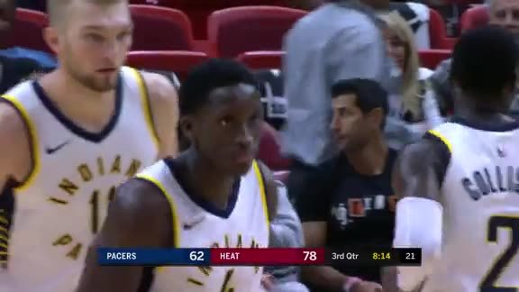 Oladipo Takes Flight For the Jam