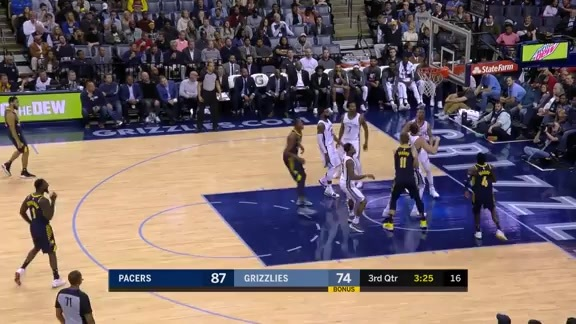Oladipo Spins and Scores