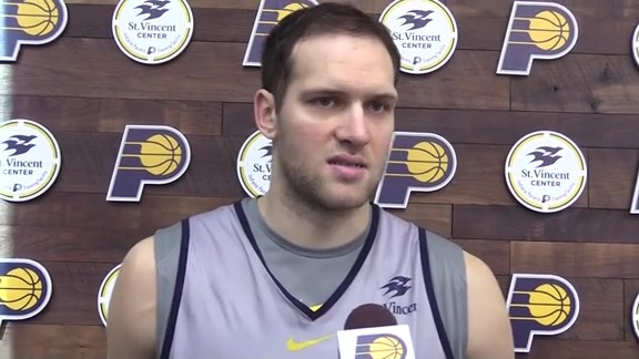 Bogdanovic Making Big Impact in Indiana