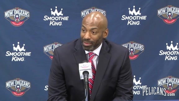 Pelicans Media Day 2015 - Dell Demps