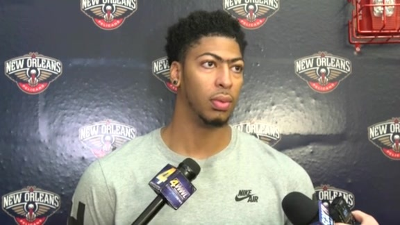 Anthony Davis: 'We're just looking to run this season'