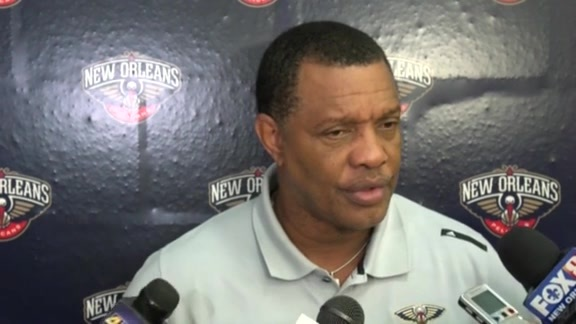 Alvin Gentry: 'I like the improvements I've seen'