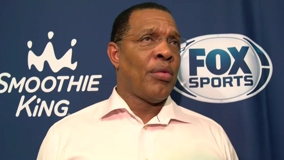 Pelicans Pregame vs. The Thunder: Head Coach Alvin Gentry (11-18-15)