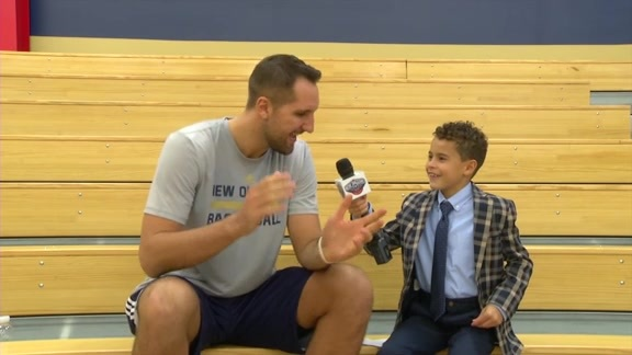 Pelicans Junior Reporter