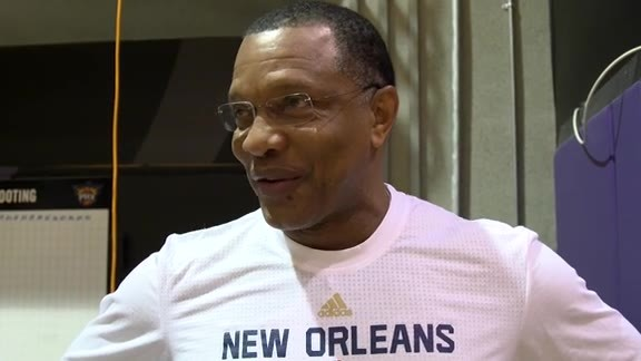 Pelicans Shootaround: Head Coach Alvin Gentry (11-25-15)