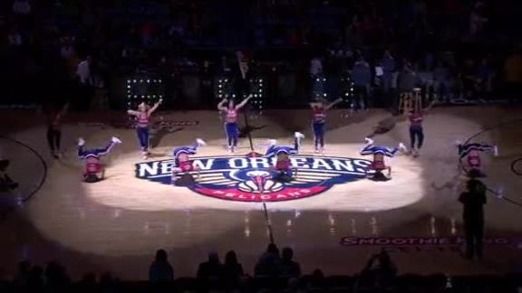 Halftime: Pelicans Entertainment Team Extravaganza 12-31-15