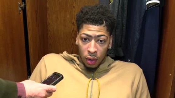 Pelicans-Lakers Postgame: Anthony Davis 2-4-16