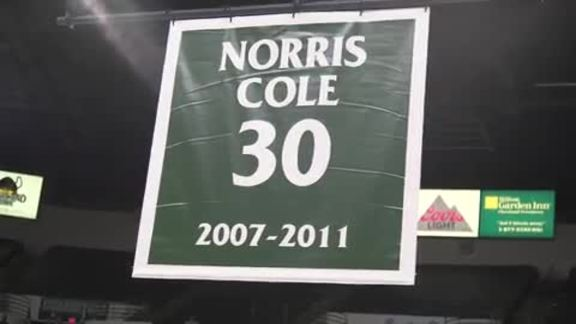 Cleveland State University retires Norris Cole jersey