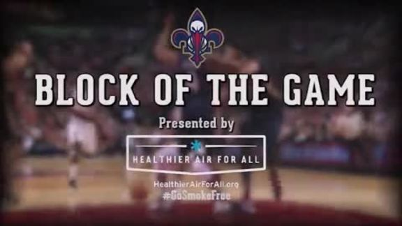 Block of the Game: Anthony Davis 2-7-16