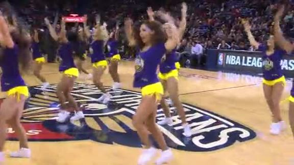 Pelicans Dance Team: 2-4-16 vs. Lakers #2