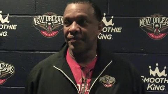 Pelicans Shootaround: Head Coach Alvin Gentry 2-10-16