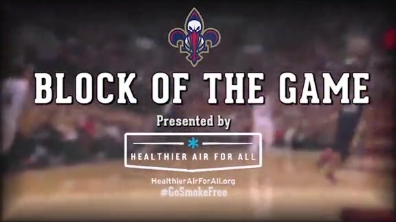 Block of the Game: Dante Cunningham 2-10-16