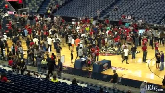 Fans Enjoy Player Meet-and-Greet at STH Appreciation Event