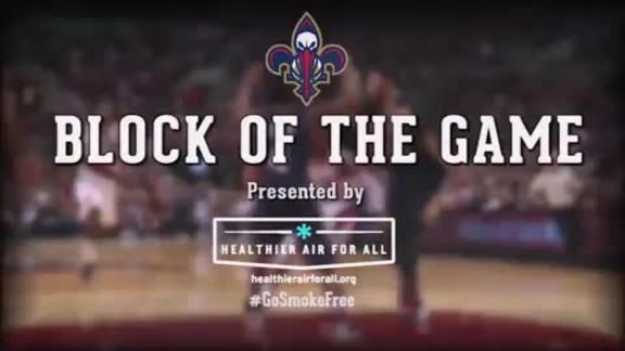Block of the Game: Kendrick Perkins 3-9-16