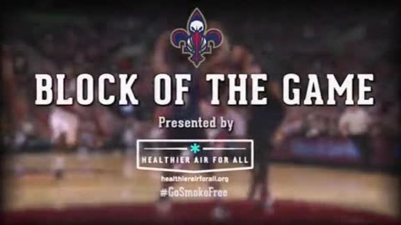 Block of the Game: Alonzo Gee 3-22-16