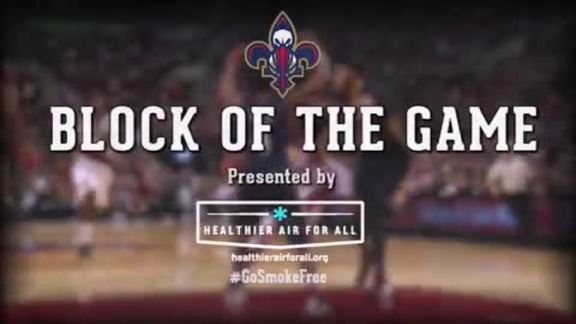 Block of the Game: Kendrick Perkins 4-3-16