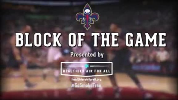 Block of the Game: James Ennis 4-5-16