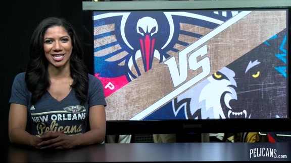 Pelicans Planner for Wednesday, April 13