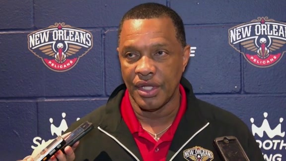 Coach Alvin Gentry pays homage to Will Smith and the city of New Orleans