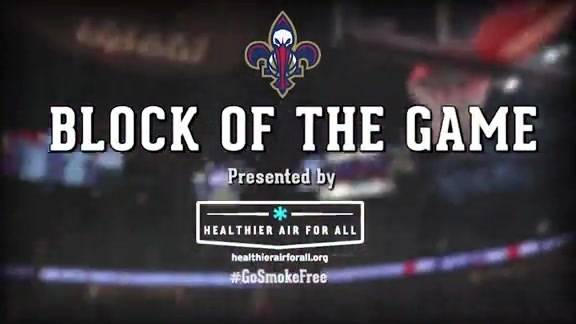 Block of the Game: James Ennis 4-11-16