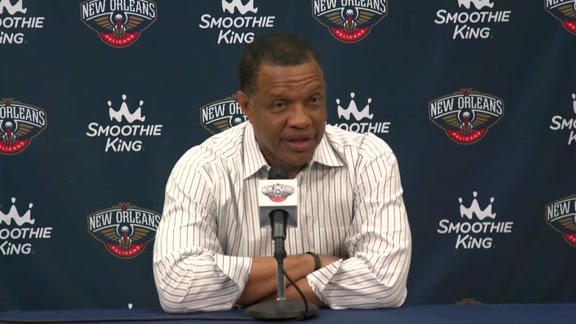 Head Coach Alvin Gentry's End of Season Press Conference